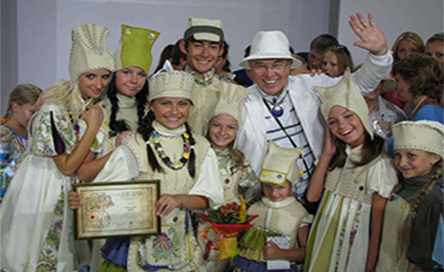 Детский образцовый театр моды «Дива»