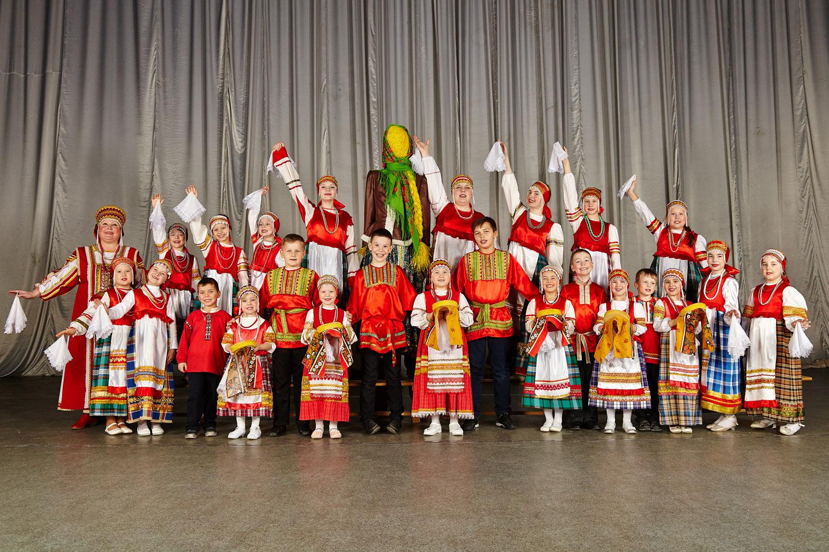 Детский ансамбль русской песни «Сказочки»